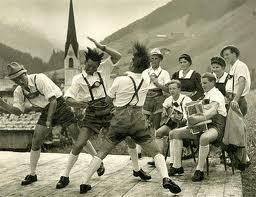 German slap dancing
