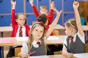 The Good Schools Guide   Primary school children in class