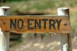 The Good Schools Guide | No entry sign