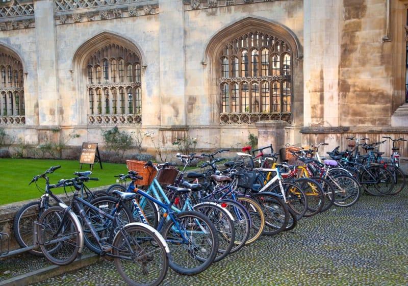 Cambridge, Oxbridge, students, bicycle, UCAS, degree, university