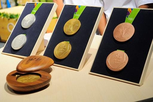 Olympic Medals - Rio 2016