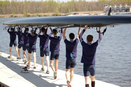 Uni rowboat